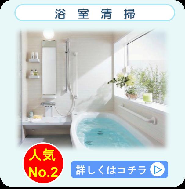 浴室・お風呂場 クリーニング クリーンライト